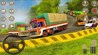 Indian Truck Spooky Stunt Cargo Truck Driver   #1   Android iOS Gameplay screenshot 1