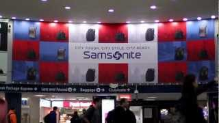Samsonite Penn Station Takeover 2012 Thumbnail