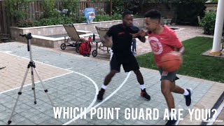 The Different Types Of Point Guards..