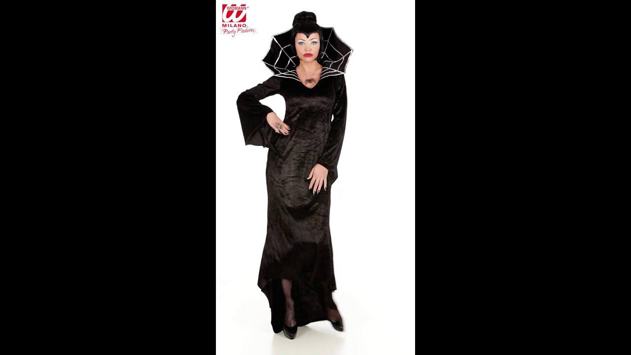Disfraz De Mujer Arana Para Adulto Youtube - Disfraz-de-araa-casero