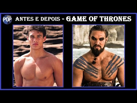antes e depois  GAME OF THRONES