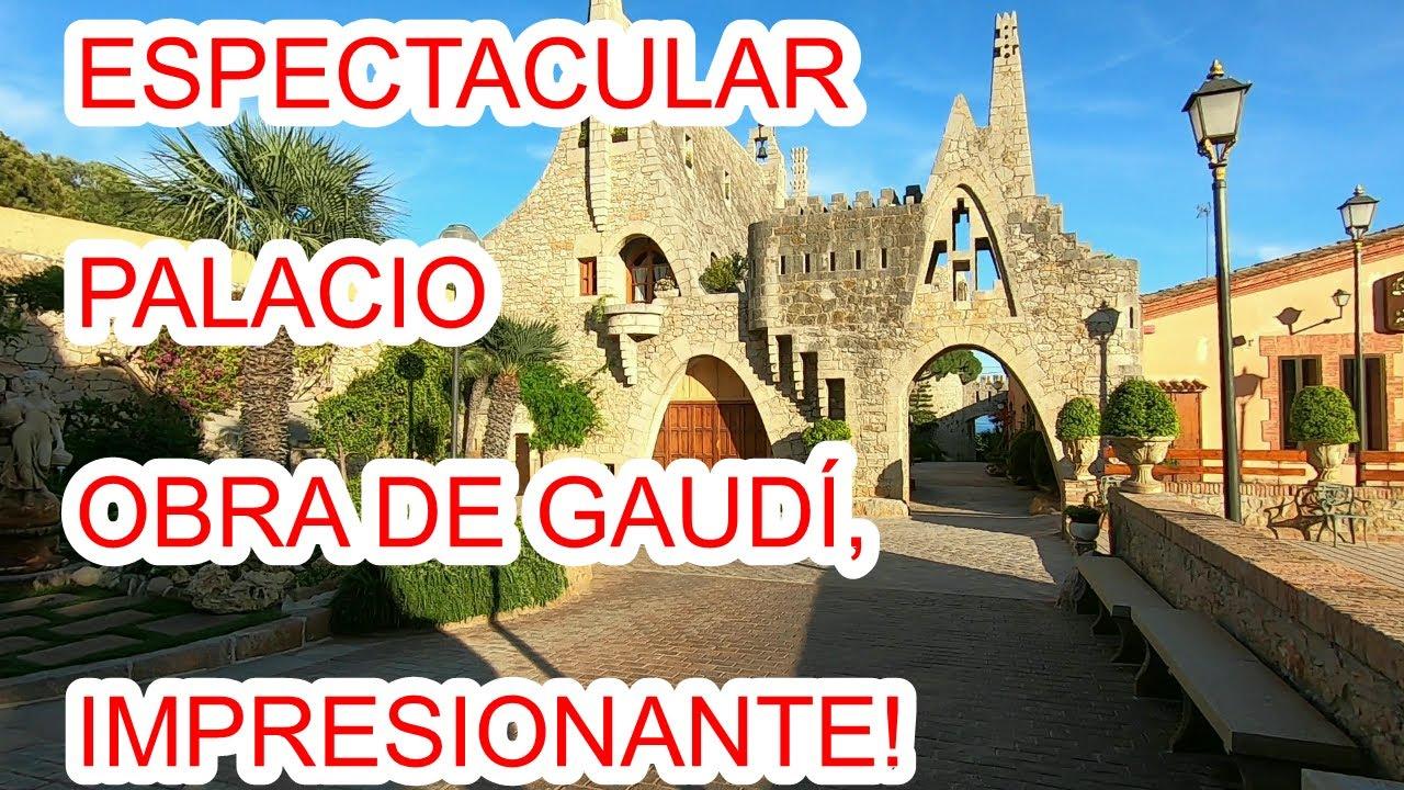 ESPECTACULAR PALACIO ECHO POR GAUDI! URBEX WOMAN