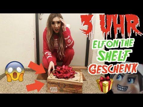ÖFFNE NIEMALS um 3 UHR NACHTS MYSTERY WEIHNACHTEN BOX von ELF ON THE SHELF