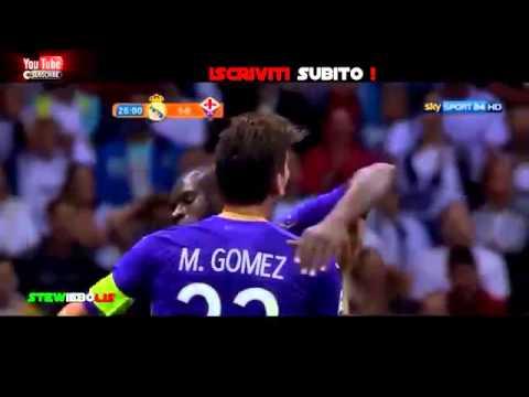 Real Madrid - Fiorentina 1 2 ▶ Ampia Sintesi Sky Sport Amichevole 20142015 HD
