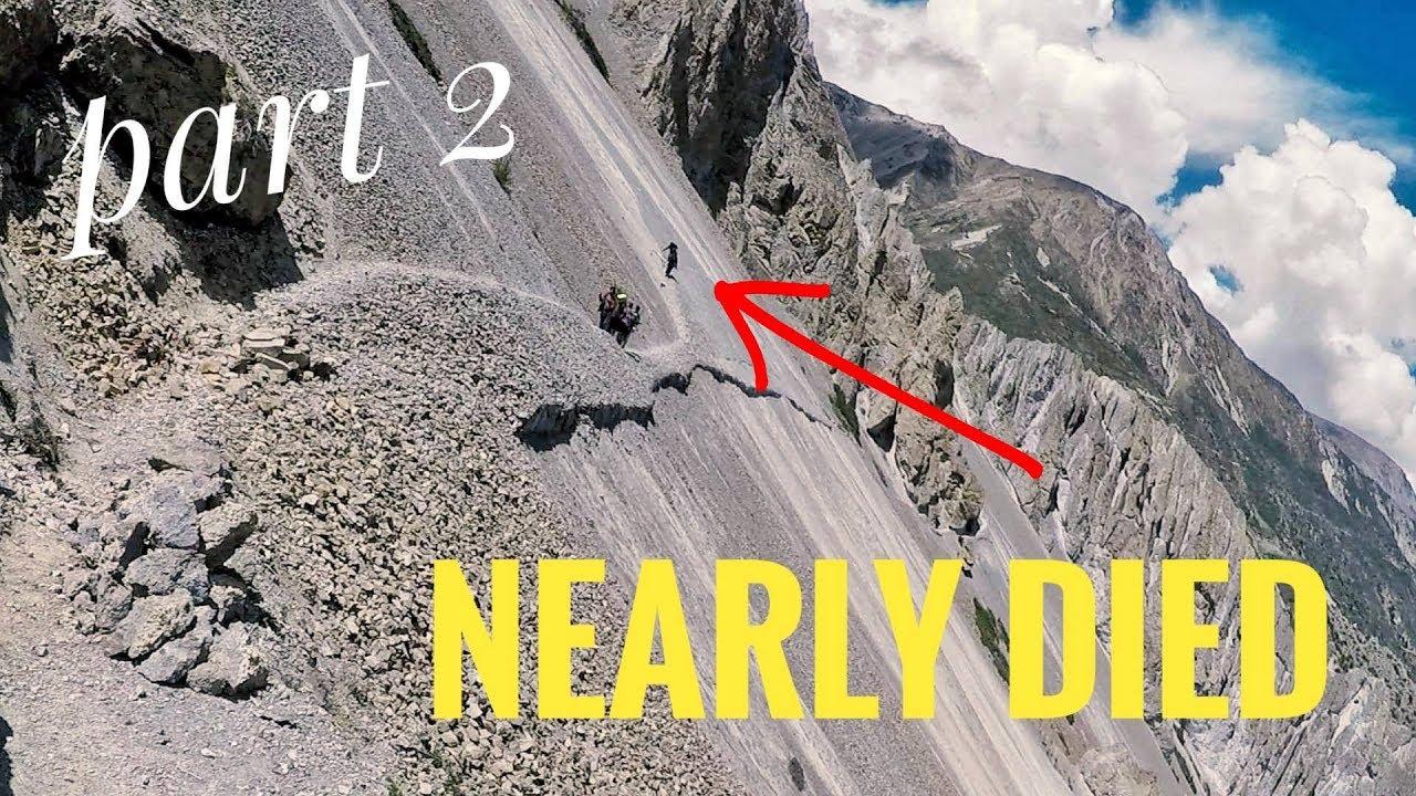 Download Manang to Tilicho basecamp(part2) Dangerous road #vlog17