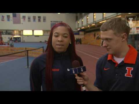 Jayla Stewart Interview | Illinois vs. NIU 12/3/16