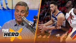 Ben Simmons had a triple-double vs. Detroit, did he prove he was worth the No. 1 pick? | THE HERD