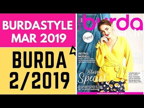 Burda 3/2019 March Issue Browsethrough And Sewing Plans Burda Syle