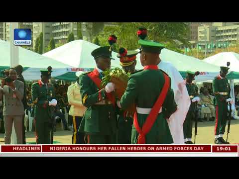 Nigerians Pay Tribute To Fallen Heroes |Politics Today|