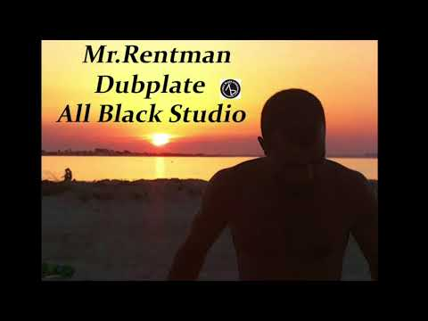 Mr Rentman Dubplate All Black Studio