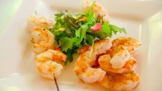 How To Make Salad Shrimp From Uncooked Shrimp : Seafood Salad