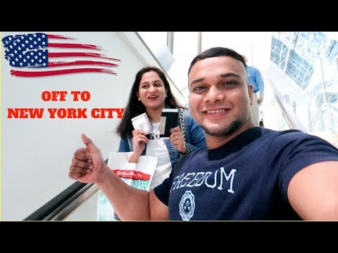 EMIRATES AIRLINE A380 DUBAI TO NEW YORK | USA TRIP BEGINS |