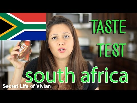 SOUTH AFRICAN FOOD TASTE TEST #1 | SOUTH AFRICA | VIVIAN REACTS