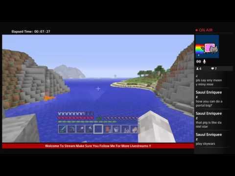 Minecraft PS4 Community World | TheGamingD0g's Paradise | Part 6 - Expanding my paradise + Mini QnA