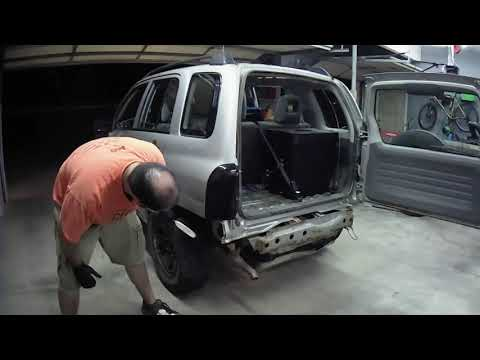 Removing Suzuki Vitara/Tracker Sheetmetal And Vents Behind Rear Bumper