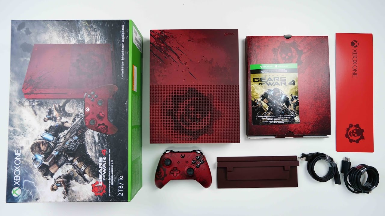 Gears of war 4 limited edition bundle   xbox.