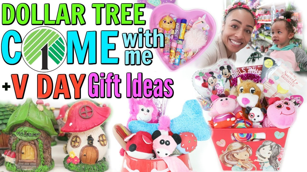 Come With Me To Dollar Tree Valentine S Day Gift Basket Ideas