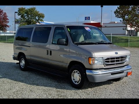 2002 ford e 150 traveler 7 passenger low top passenger van. Black Bedroom Furniture Sets. Home Design Ideas