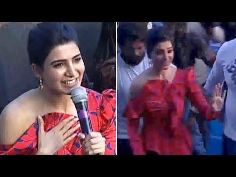 Actress Samantha Akkineni Launches Samsung Galaxy S10 In Madhapur | Manastars