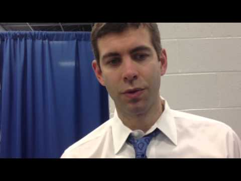 Brad Stevens Butler-Marquette Postgame