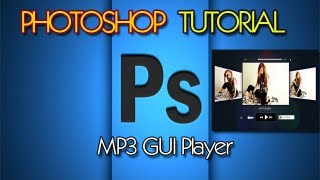 Photoshop Tutorial MP3 GUI Player Avril Lavigne HD