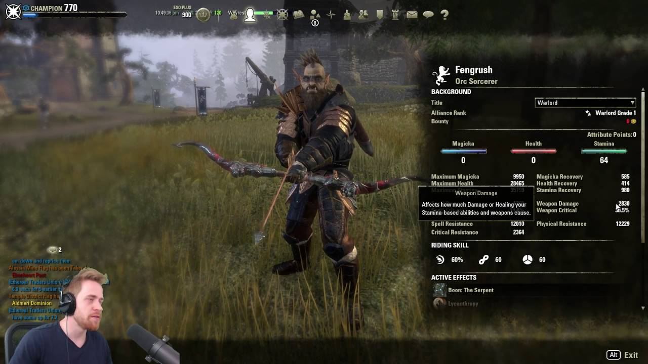 Build Teso Lame Bnoire