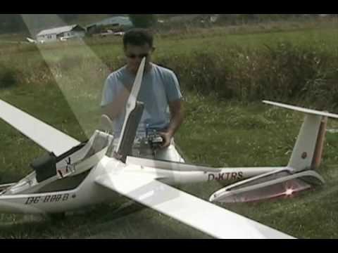 Scale RC Glider DG 800B