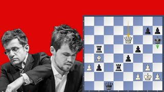 Carlsen blunders - Aronian vs Carlsen | Grand Chess Tour 3rd place playoffs 2019