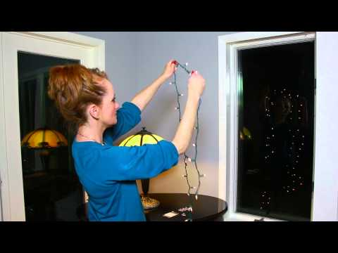 Find Out How To Hang Christmas Lights In A Window