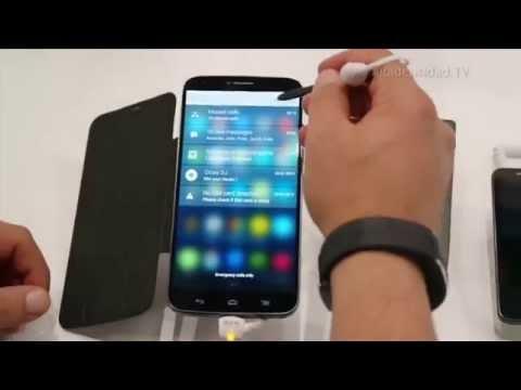 Alcatel OneTouch presentó su tabléfono Hero 2 y la nueva familia POP 2