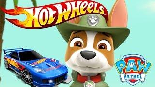 ЩЕНЯЧИЙ ПАТРУЛЬ и Hot Wheels / Хот Вилс. Гоночные машинки. Развивающий мультик для детей