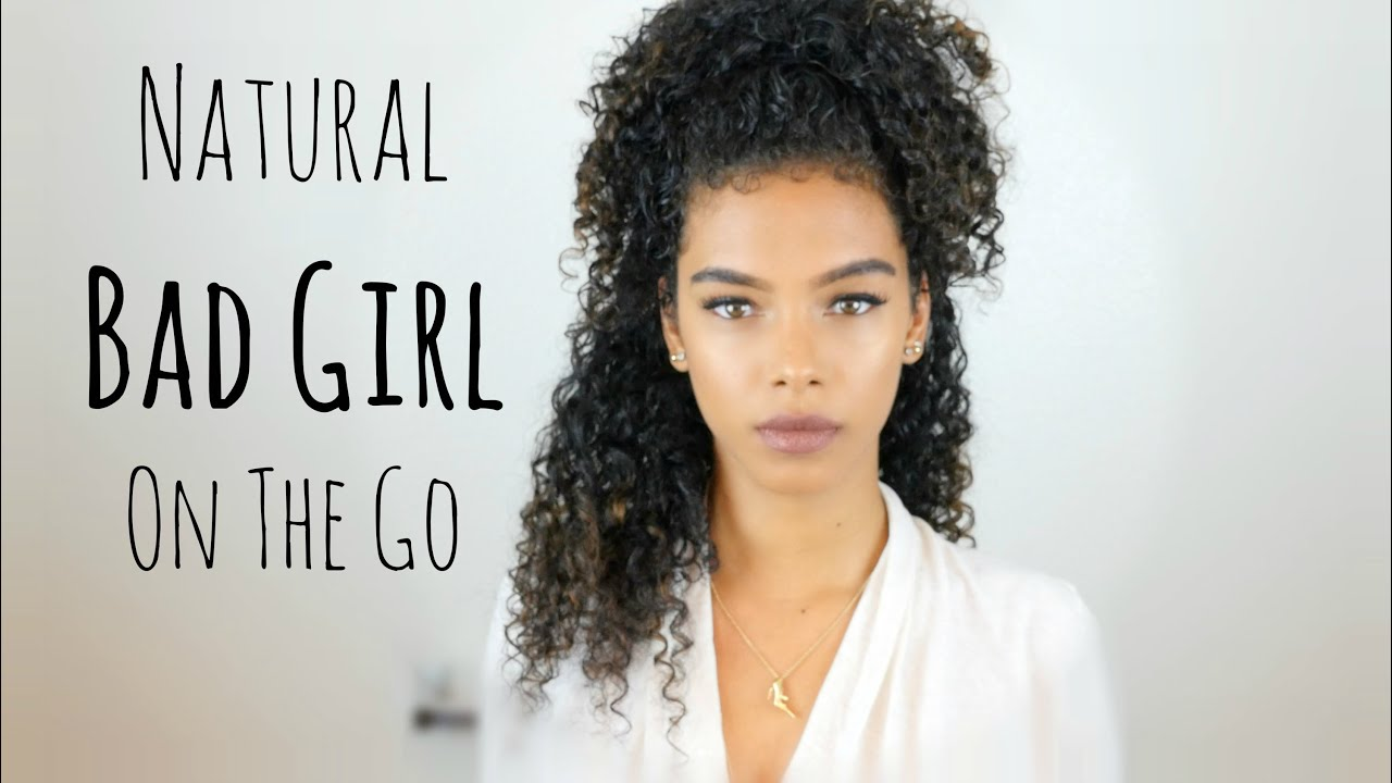 curly hair styles for black girls bad on the go hair amp makeup sunkissalba 3047 | maxresdefault