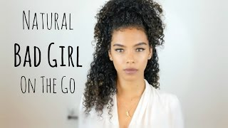Natural Bad Girl {on the go} Hair & Makeup | SunKissAlba