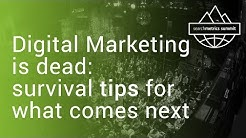 🇬🇧/🇺🇸  'Digital marketing is dead: survival tips for what comes next' - Searchmetrics Summit 2017
