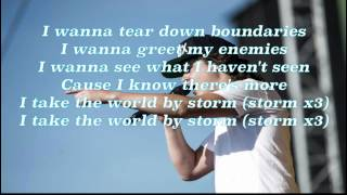 Lukas Graham - Take the World By Storm (Lyrics)