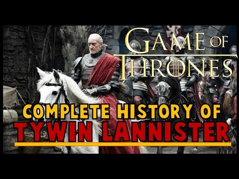 Tywin Lannister History (COMPLETE)