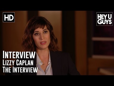 Lizzy Caplan Interview - The Interview