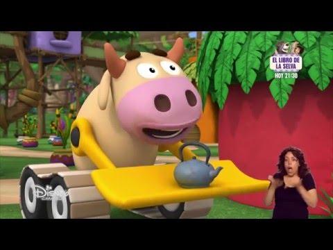 Jungla sobre ruedas LSE 02-20 Scootie tiene un escarabajito La tetera magica de Tractoro