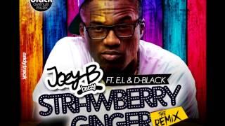 Joey B ft. D-Black & E.L - Strawberry Ginger Remix (2013)