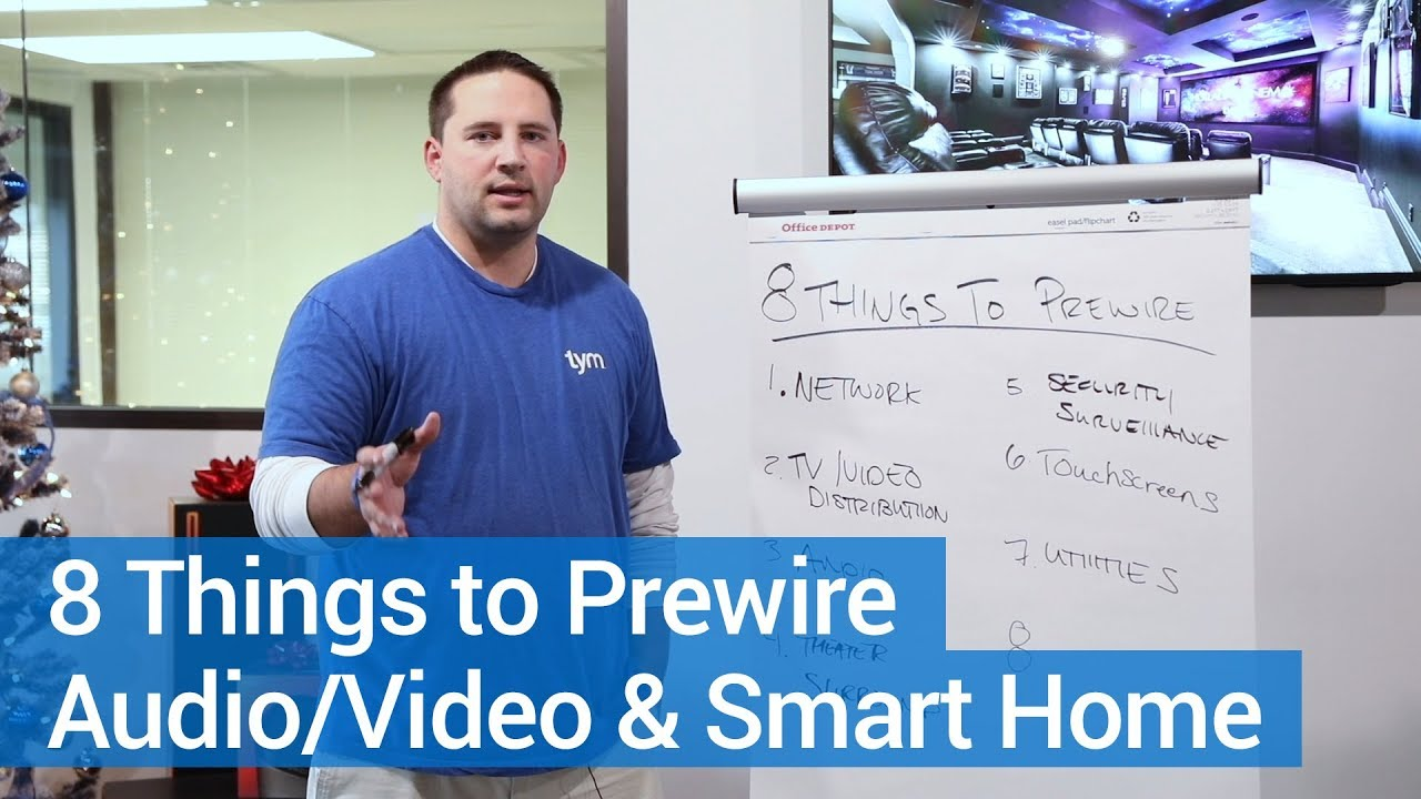 How To Wire A Smart Home Top 8 Things For Wiring Youtube New House Technology