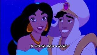 アラジン A Whole New World 英語字幕付き thumbnail