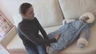 Зимние детские комбинезоны трансформеры на меху ТМ