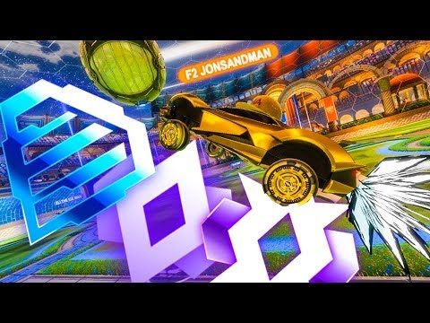 THE NEW ROCKET LEAGUE UPDATE GIVES ME MY RANK
