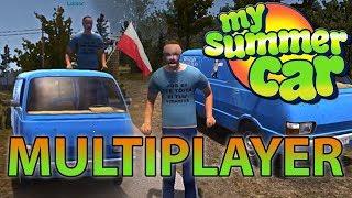 TESTUJEMY TRYB MULTIPLAYER ft. Luksor - My Summer Car #91