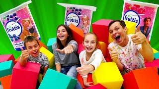 Челлендж - выручаем Рапунцель - Лабиринт игрушек