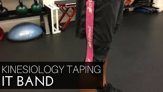 Kinesiology Taping for IT Band