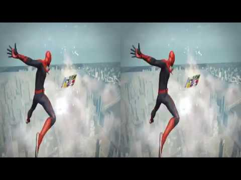 The Amazing Spider Man VR 3D Side by Side 4K
