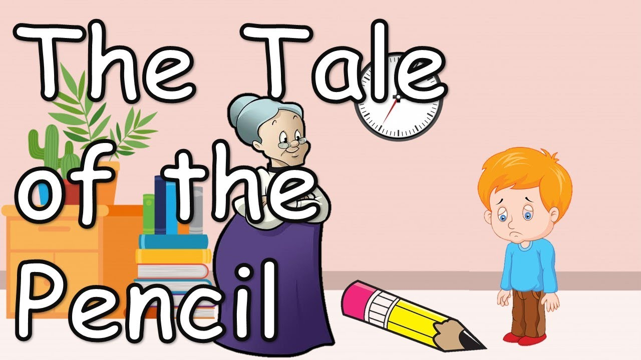 The Tale of the Pencil - English | Story for kids with subtitles - YouTube