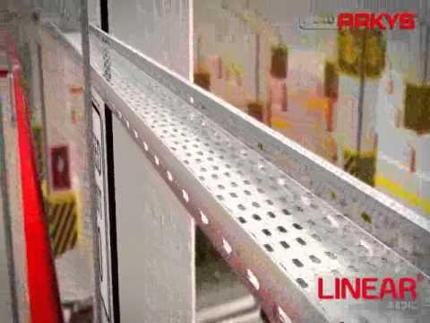 Презентация системы кабельных лотков LINEAR от ARKYS
