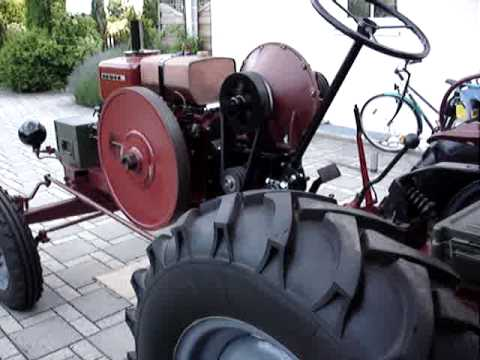 Homemade Tractor With Deutz Mah716 1936 Transmission
